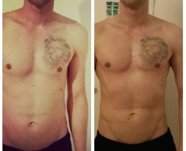 Freeletics Transformation von Simon Pollak
