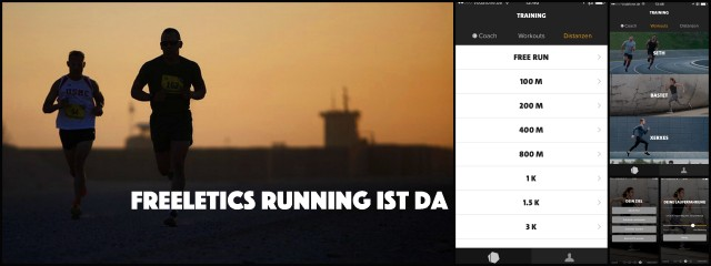 Freeletics Running App Coach