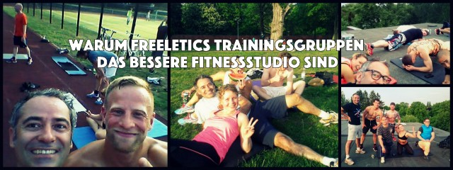 Freeletics Trainingsgruppen