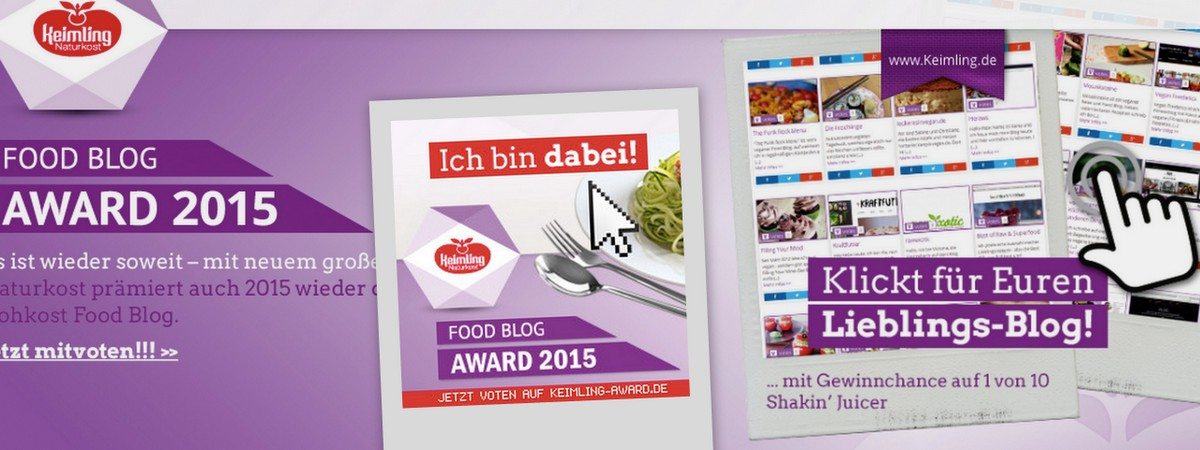 vegan Freeletics beim Keimling Award 2015