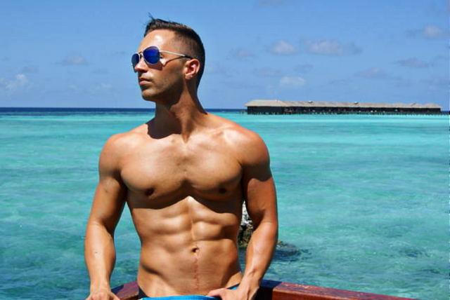 Bauchmuskeltraining Sixpack workout vegan athlete
