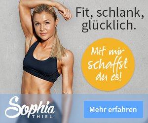 Sophia Thiel Online Fitness Porgramm Test Erfahrung