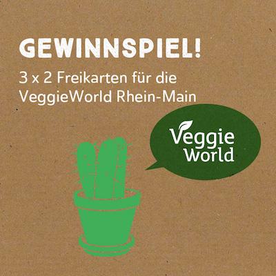 Gewinne Eintrittskarten für die VeggieWorld in Wiesbaden