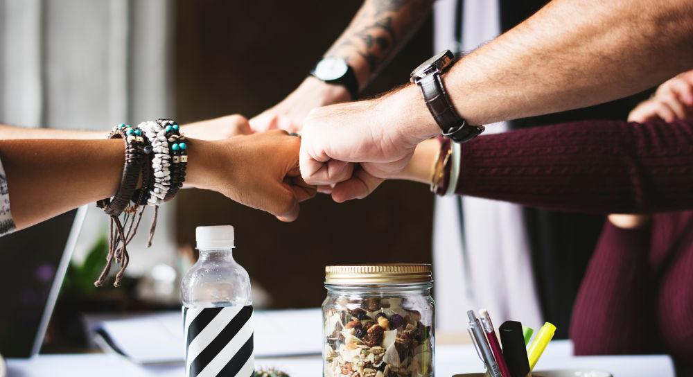 Mitarbeiter: Gemeinsam stark