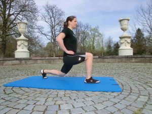 Lunges, bodyweight, Bodyweight Fitness, vegan bodyweight, vegan fitness, vegan boxen, vegane sportler, bodyweight boxer