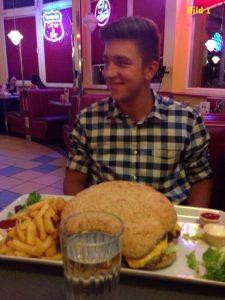 Freeletics Ernährung, XXL Burger, Burger
