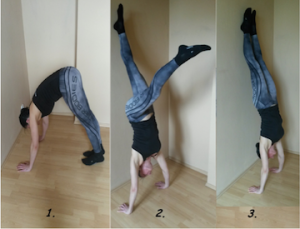 freeletics, freeletics ausführung, freeletics one hand handstand, freeletics workout,