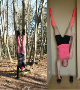 One Hand Pushups, One Hand Handstand, Freeletics, Freeletics Workout