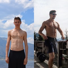 Vegan Transformation, Skinny Fat, Muskelaufbau