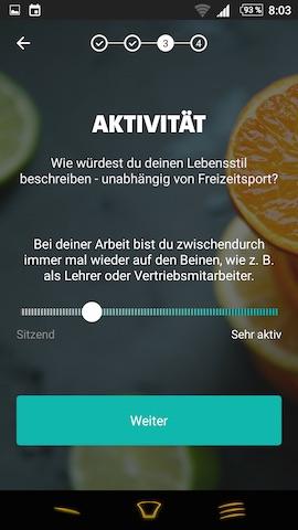 freeletics nutrition app test app freeletics ern hrung. Black Bedroom Furniture Sets. Home Design Ideas