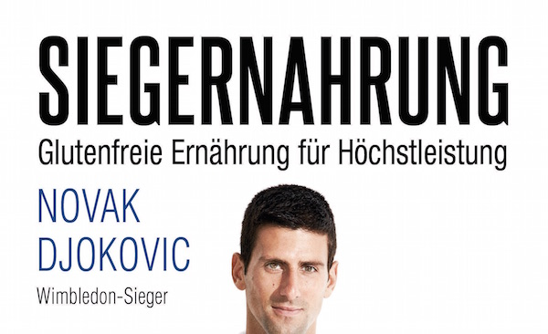 Novak Djokovic Siegernahrung Buchcover