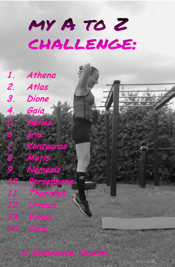 My A to Z Challenge