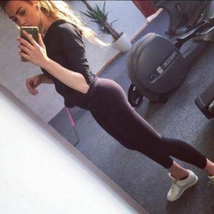 Natalie Gym Selfie