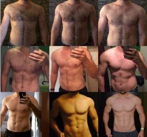 Sebastians Transformation Freeletics