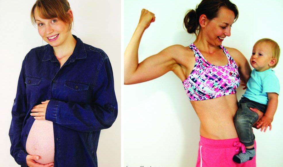 Transformation Schwangerschaft