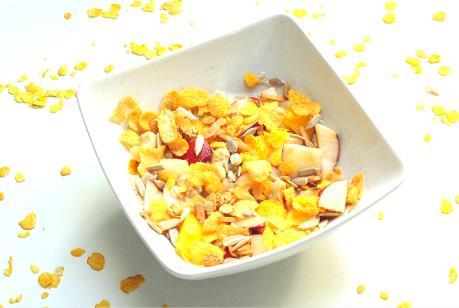 veganes-muesli mit Früchten