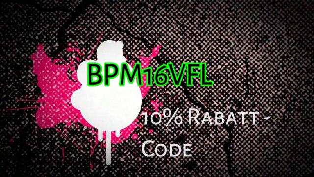 Rabattcode BPM16VFL