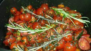 Tomaten, Rosmarin