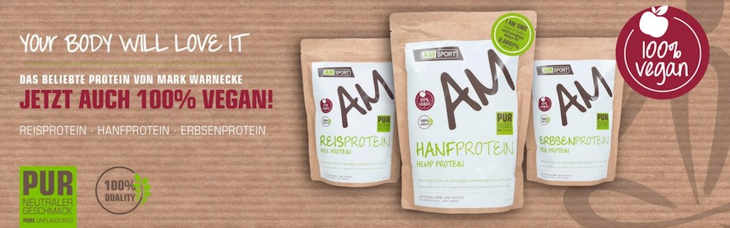 Amsport vegan Protein by Mark Wernecke