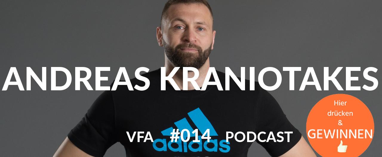 MMA Vegan Sportler Schwergewicht Andreas