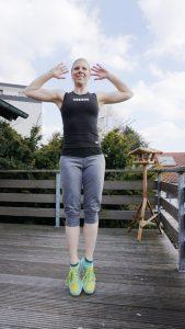 Denise Bernard bei den Jumping Jacks