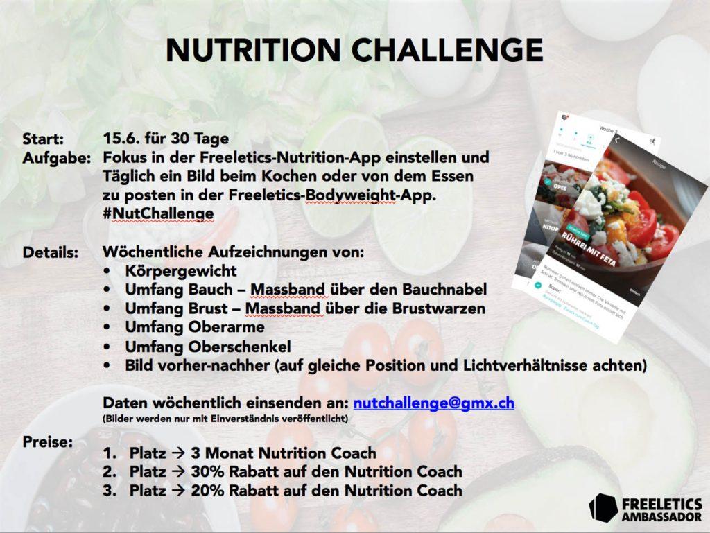 freeletics nutrition app erfahrung challenge