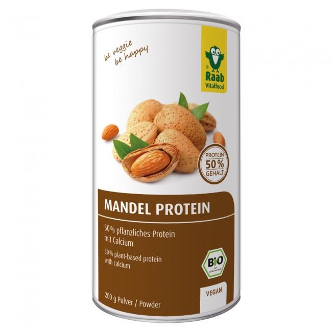 veganes proteinpulver test mandelprotein
