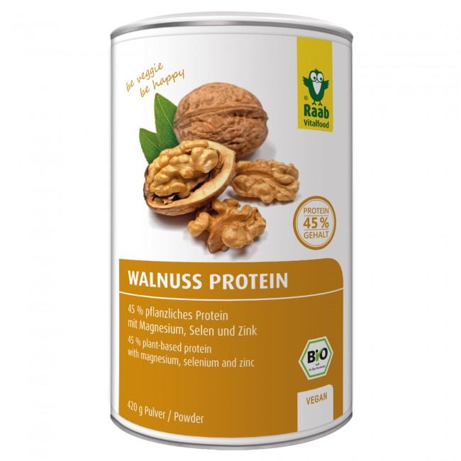 veganes proteinpulver test Walnussprotein