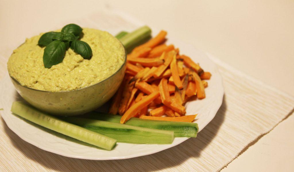 vegan hummus lupinen dip snack