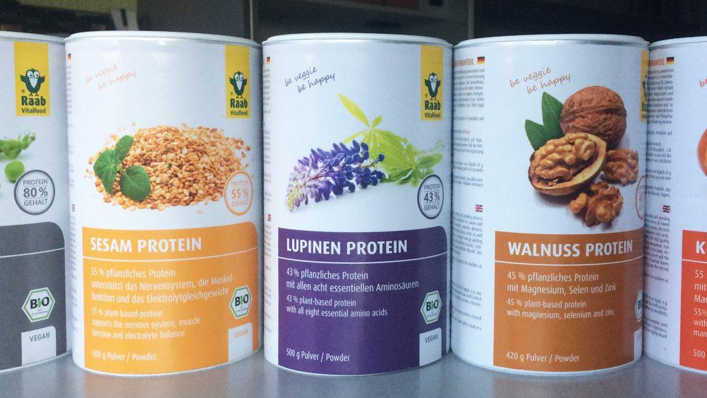veganes proteinpulver Vergleich