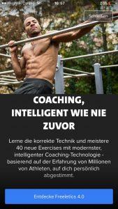 neuer coach freeletics vegan update