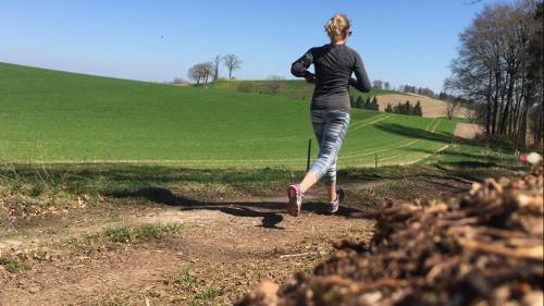 Laufen, Frühsport mit Jessysvegankitchen