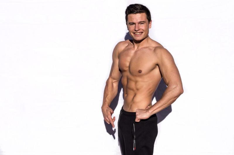 Lenny Schönbach - veganer Kraftsportler
