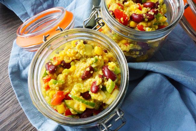 Meal Prep Rezepte Couscoussalat
