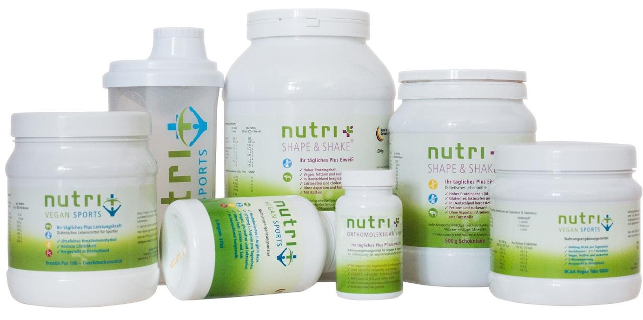 Nutri-Plus Erfahrung Eiweisspulver Vegan