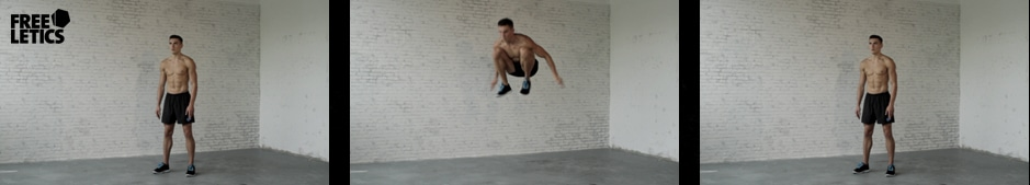 Freeletics Übung - Freeletics High Jumps
