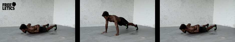 Freeletics Übung - Pushups