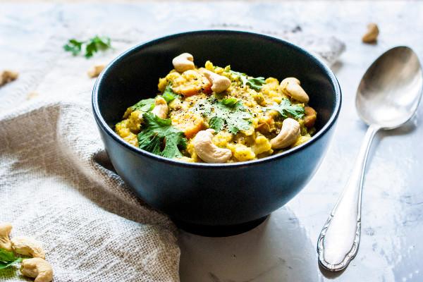 One Pot Rezepte Kokoslinsen Gemüse Curry