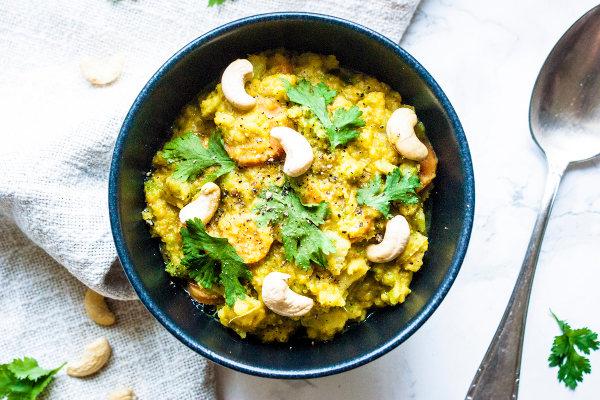 One Pot Rezepte - Kokos-Linsen Gemüse Curry