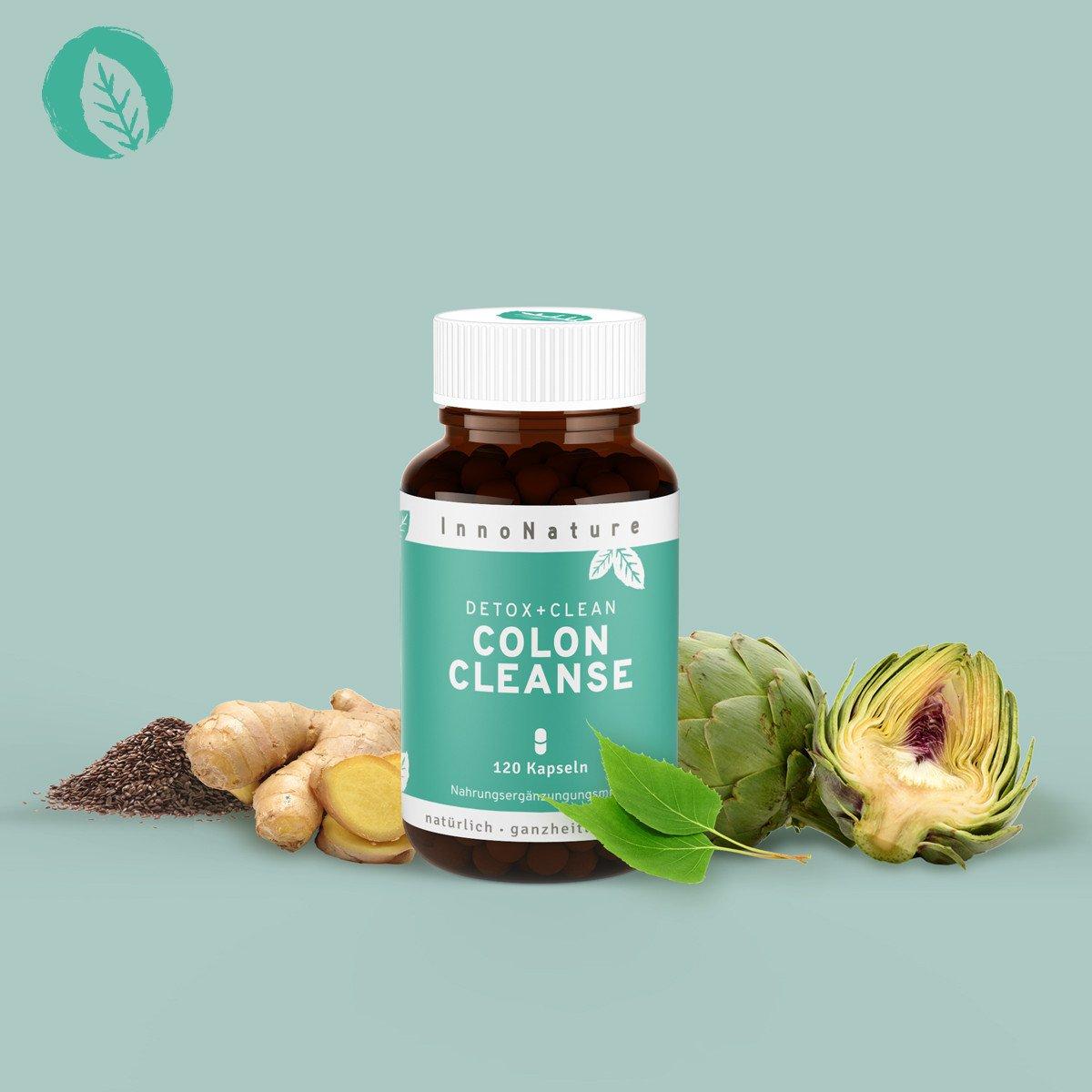 vegane Nahrungsergänzungsmittel - Colone Cleanse InnoNature