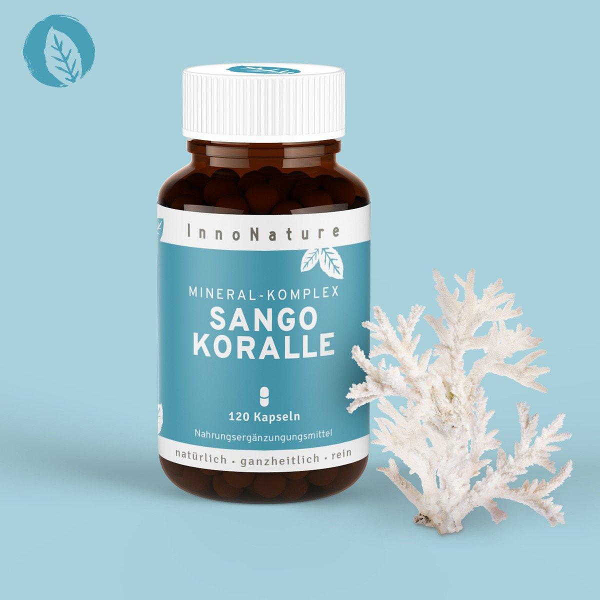 vegane Nahrungsergänzungsmittel - Sango Koralle InnoNature