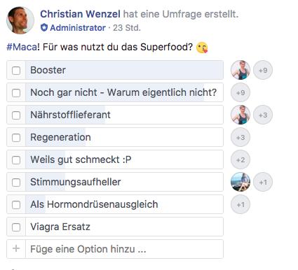 Maca Facebook Umfrage 17.10.2017 Kopie