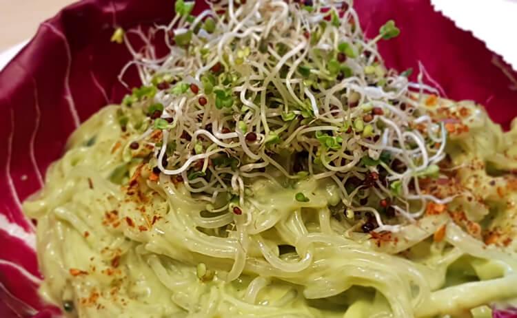 rohkost-muskelaufbau-Kelp Zucchini