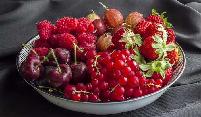 Gesunde Gewohnheiten Iss Obst und Gemüse