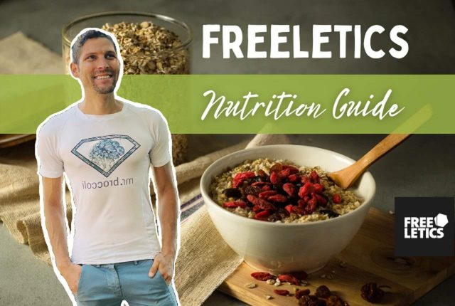 Freeletics Ernährung Nutrition Guide Titelbild