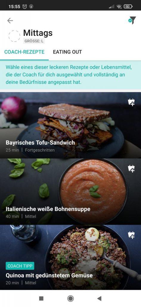 Freeletics Ernährung8