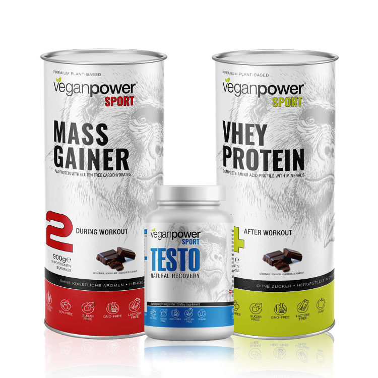 veganpower Masse Set