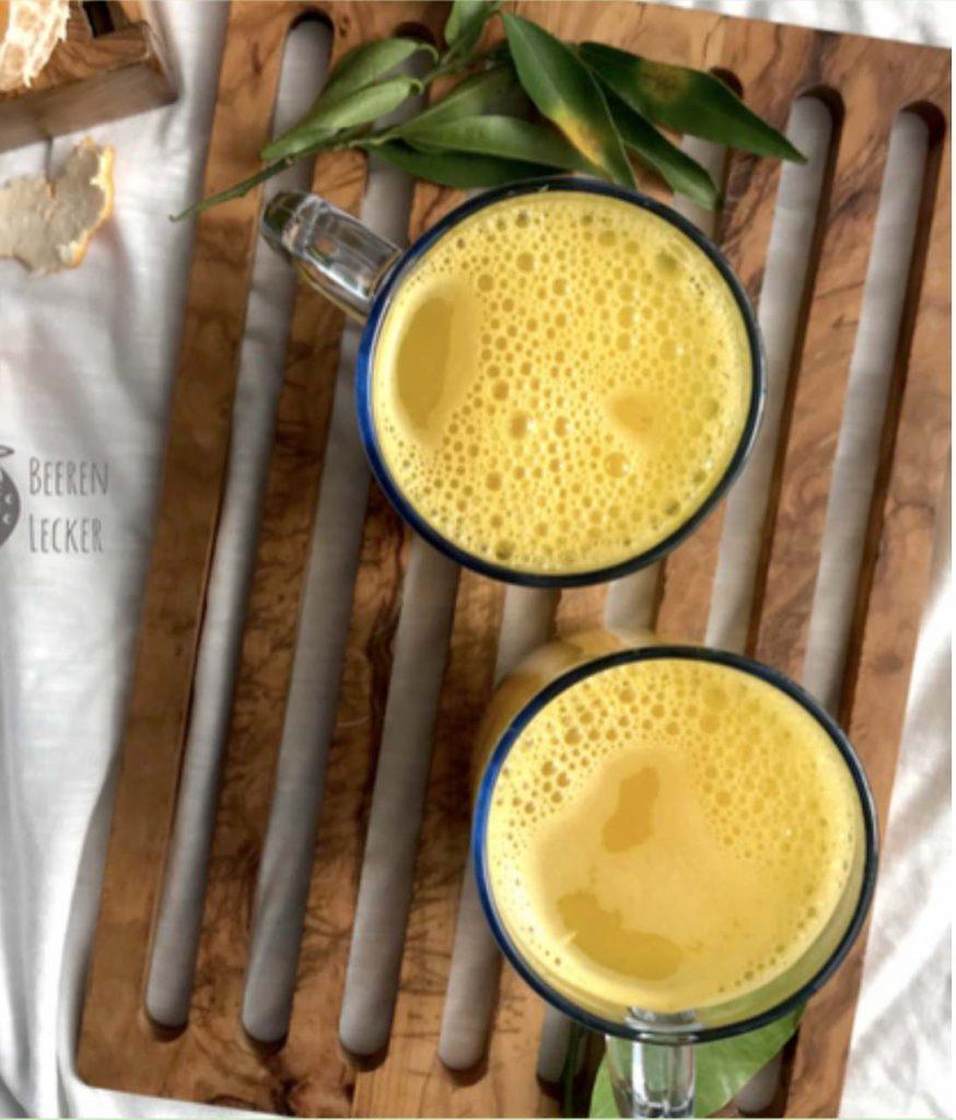 Glutenfrei Immunboosting Kurkuma Tee