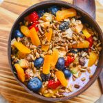 high carb vegan-Fitness Frühstück
