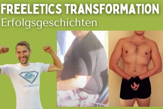 Freeletics Transformation Titelbild